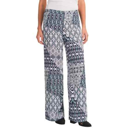 Nomadic Traders Palazzo Wide-Leg Pants (For Women) in Bluegrass - Closeouts