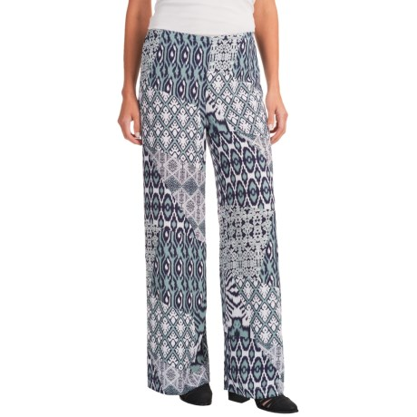 Nomadic Traders Palazzo Wide-Leg Pants (For Women) in Bluegrass