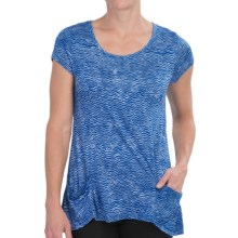 Nomadic Traders Paradiso Shirt - Short Sleeve (For Women) in Blue Rhythm - Closeouts