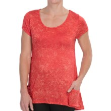 Nomadic Traders Paradiso Shirt - Short Sleeve (For Women) in Coral Rhythm - Closeouts
