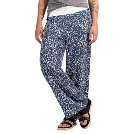 Nomadic Traders Patio Veranda Pants - Rayon (For Women) in Dahlia