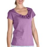 Nomadic Traders Pima Cotton Rosetta T-Shirt - Short Sleeve (For Women)