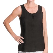 Nomadic Traders Pintuck Shirt - Sleeveless (For Women) in Black - Closeouts