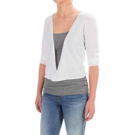 Nomadic Traders Portofino Demi Cardigan Sweater (For Women) in White - Closeouts