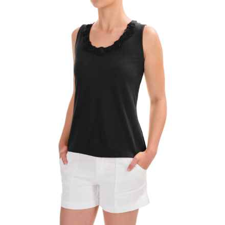 Nomadic Traders Portofino Sienna Tank Top (For Women) in Black - Closeouts