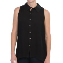 Nomadic Traders Raven Shirt - Sleeveless (For Women) in Black - Closeouts