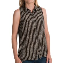 Nomadic Traders Raven Shirt - Sleeveless (For Women) in Flax - Closeouts