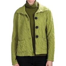 Nomadic Traders Route 66 Crop Jacket (For Women) in Fennel - Closeouts