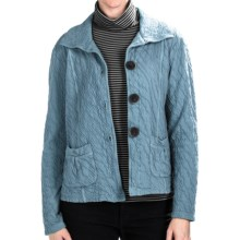 Nomadic Traders Route 66 Crop Jacket (For Women) in Steel Blue - Closeouts