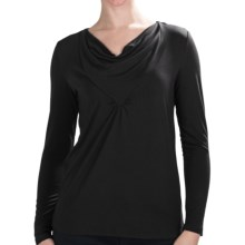 Nomadic Traders Route 66 Greta Shirt - Stretch Jersey, Long Sleeve (For Women) in Black - Closeouts