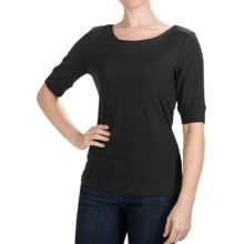Nomadic Traders Route 66 Shirt - Elbow Sleeve (For Women) in Black - Closeouts