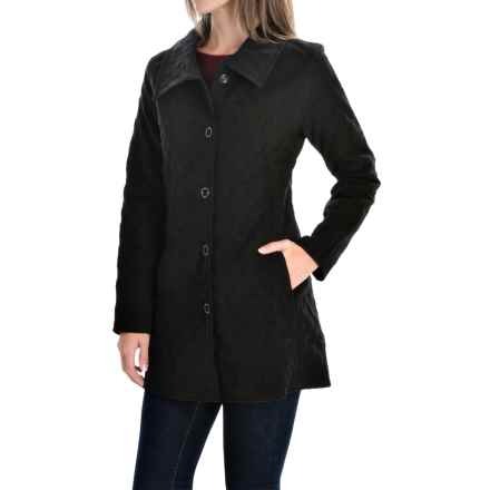 Nomadic Traders Savoy Quilted Jacket - Snap Front (For Women) in Black - Closeouts