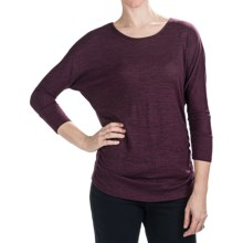 Nomadic Traders Savvy Larkspur Knit Shirt - Long Sleeve (For Women) in Berry - Closeouts