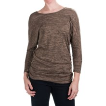 Nomadic Traders Savvy Larkspur Knit Shirt - Long Sleeve (For Women) in Mocha - Closeouts