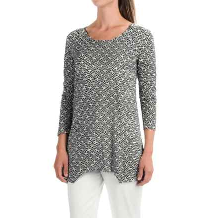Nomadic Traders Savvy Tunic Shirt - Rayon, 3/4 Sleeve (For Women) in Mekong - Closeouts