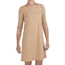 Nomadic Traders Shoreline Dress - 3/4 Sleeve (For Women) in Sorbet - Closeouts