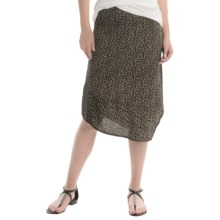 Nomadic Traders Side Swept Skirt (For Women) in Onyx - Closeouts