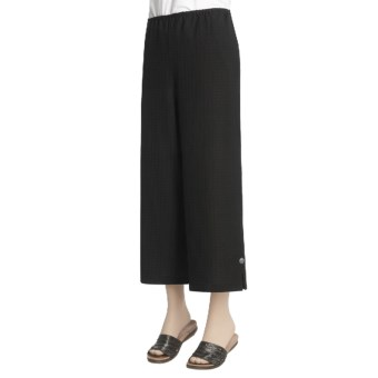 Nomadic Traders Soho Crop Pants (For Women) in Black