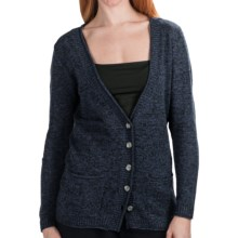 Nomadic Traders St. Germain Boyfriend Cardigan Sweater - Melange (For Women) in Denim - Closeouts