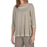 Nomadic Traders Stripe Hannah Shirt - Cotton-Modal, 3/4 Sleeve (For Women)