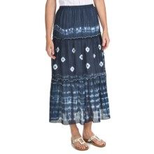 Nomadic Traders Tie-Dye Skirt (For Women) in Navy Tie Dye - Closeouts