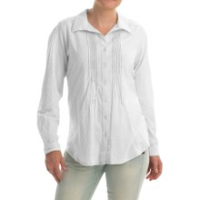 Nomadic Traders Tuck Away Blouse - Long Sleeve (For Women) in White - Closeouts