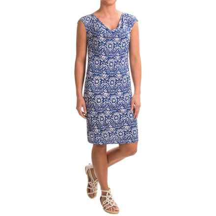 Nomadic Traders Villa Mercury Rising Shift Dress - Sleeveless (For Women) in Azul Ikat - Closeouts