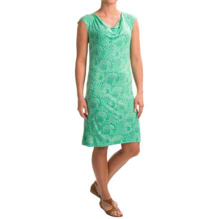 Nomadic Traders Villa Mercury Rising Shift Dress - Sleeveless (For Women) in Mum Azure - Closeouts