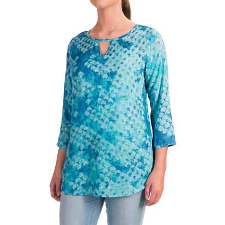 Nomadic Traders Wanderlust Shirt - 3/4 Sleeve (For Women) in Sea Spray - Closeouts