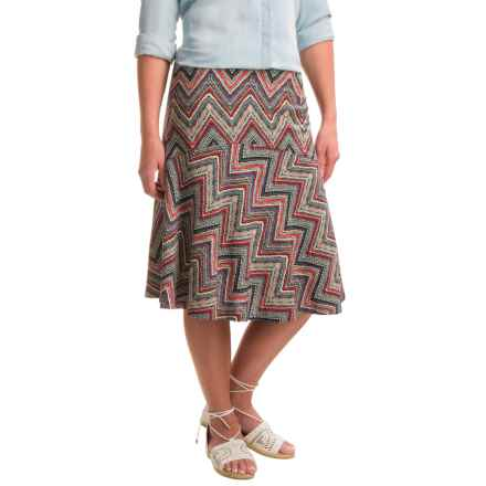 Nomadic Traders Weekenders Charlie Skirt (For Women) in Chevron - Closeouts