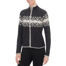 Nomadic Traders Winter Solstice Cabin Sweater (For Women) in Charcoal - Closeouts
