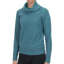 Nomadic Traders Winter Solstice Sweater - Cowl Neck (For Women) in Azure - Closeouts