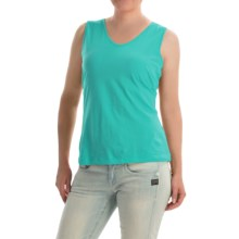 Nomadic Traders World Market Tank Top - Pima Cotton (For Women) in Capri - Closeouts