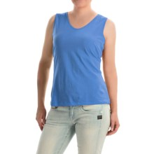 Nomadic Traders World Market Tank Top - Pima Cotton (For Women) in Sapphire - Closeouts