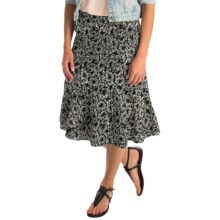 Nomadic Traders Wrap It Up Laguna Trumpet Skirt (For Women) in Noir - Overstock