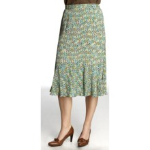 Nomadic Traders Zara Skirt - Moss Crepe (For Women) in Geo - Closeouts