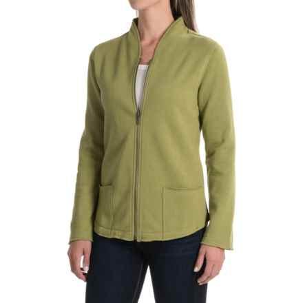 Nomadic Traders Zuma Newport Fleece Jacket - Zip Front (For Women) in Pistachio - Closeouts