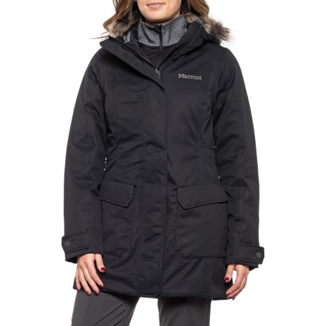 Nome Down Jacket - Waterproof, 700 Fill Power (For Women) - BLACK (L )