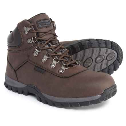 Nord Trail Edge Hi Hiking Boots - Waterproof (For Men) in Chocolate - Closeouts