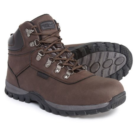 Nord Trail Edge Hi Hiking Boots - Waterproof (For Men) in Chocolate