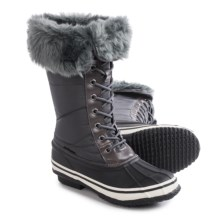 Nord Trail Emma Snow Boots - Insulated (For Women) in Charcoal - Closeouts