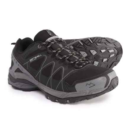 Nord Trail Mt. Hood Low Hiking Shoes - Waterproof (For Men) in Black/Charcoal - Closeouts