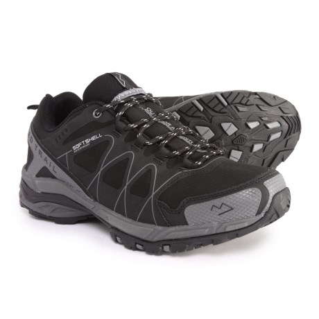 Nord Trail Mt. Hood Low Hiking Shoes - Waterproof (For Men) in Black/Charcoal