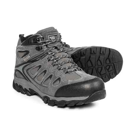 Nord Trail Mt. Logan Hiking Boots - Waterproof (For Men) in Charcoal - Closeouts