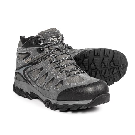 Nord Trail Mt. Logan Hiking Boots - Waterproof (For Men) in Charcoal