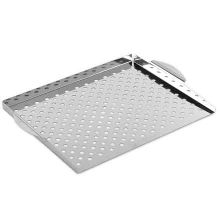 Nordic Ware Stainless Steel Grill Topper in Stainless Steel - Closeouts