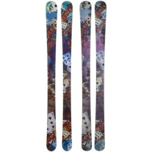 Nordica Dead Money Alpine Skis - Twin Tip, Park and Pipe in Turquoise/Pink - Closeouts