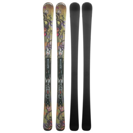 Nordica Drive Skis - XBI CT Bindings (For Women) in Pearl
