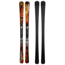 Nordica Fire Arrow 74 Alpine Skis - XBI CT Bindings in Dark Red - Closeouts