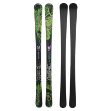 Nordica Fire Arrow 80 TI Alpine Skis - XBI CT Bindings in Green/Purple - Closeouts
